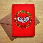 fox christmas card sm