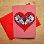 fox heart card sm