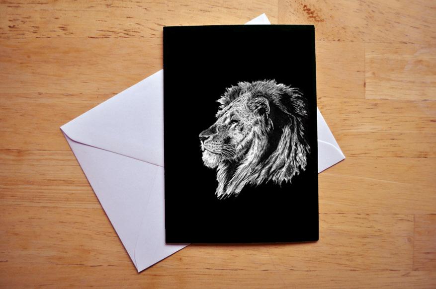 lion card sm