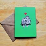 lovebirds card sm