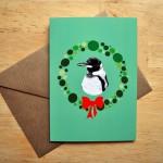 penguin christmas card sm