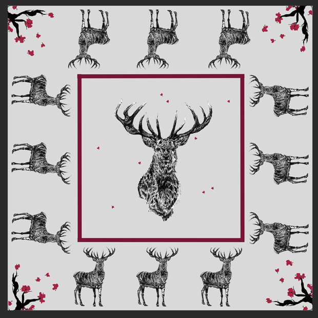 stag scarf sm