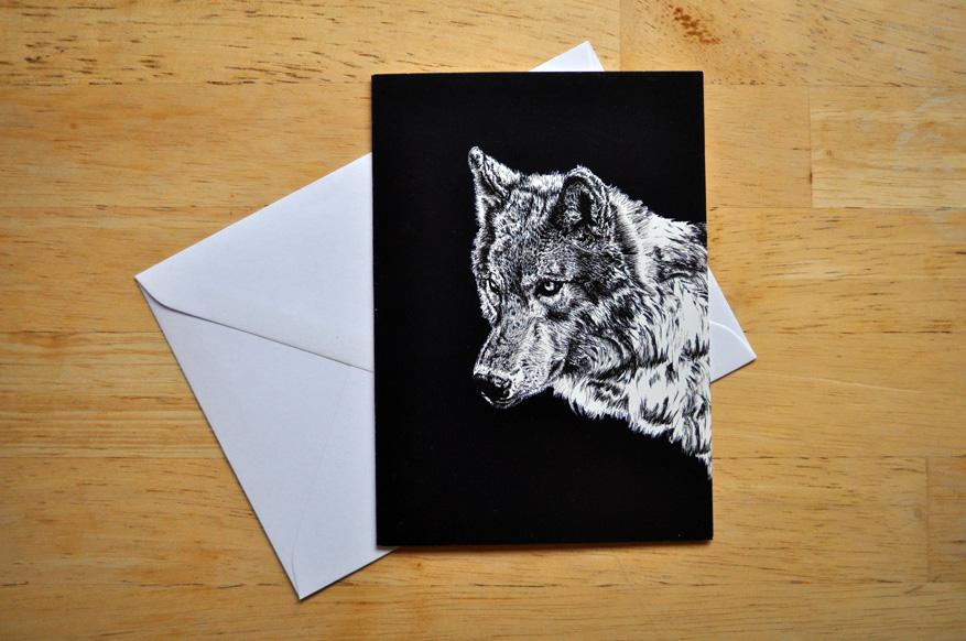 wolf card sm